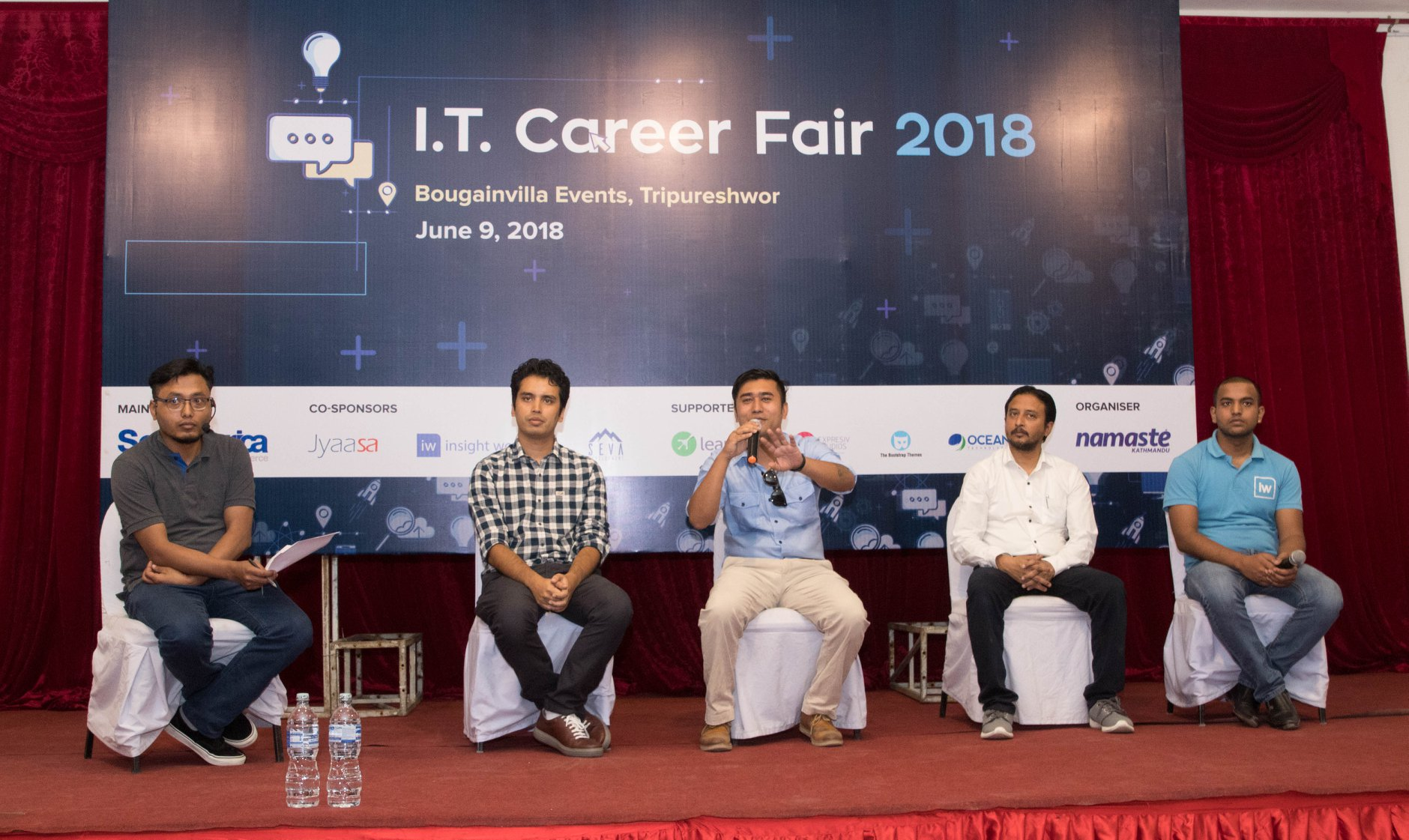 IT Career Fair – Panel Discussion 1: Right Skill Sets for Career in I.T.