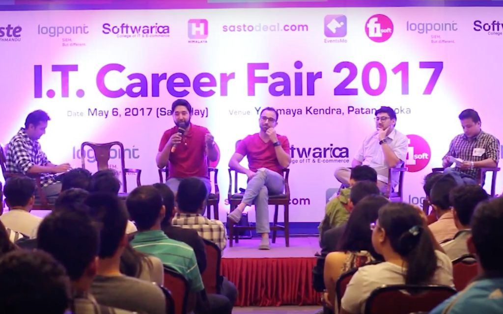 Panel Discussion – Startup and Business | Career Fair 2017