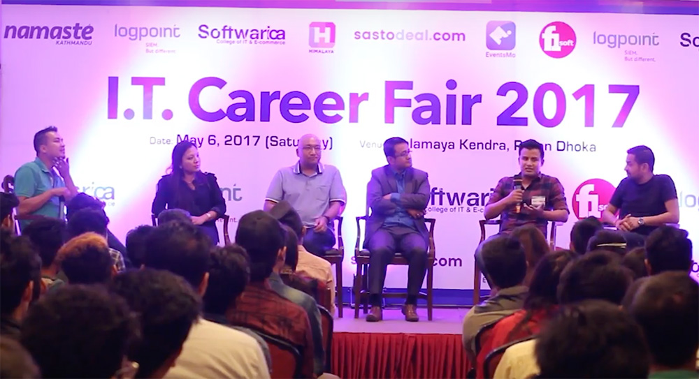 Panel Discussion – Right skill for Career in IT | Career Fair 2017